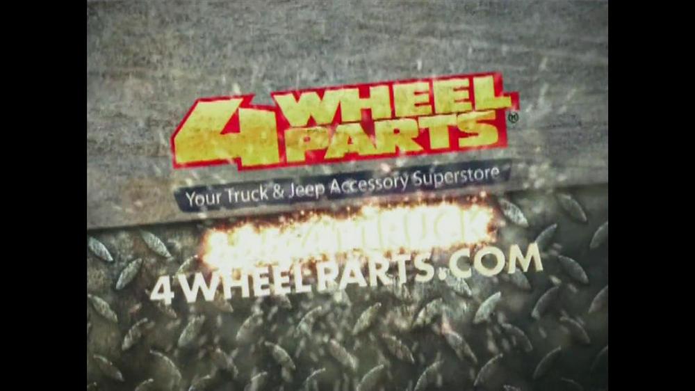 4 Wheel Parts TV Commercial, 'Truck & Jeep Superstore: Bushwacker BodyGear'  - Video
