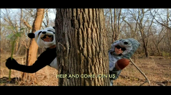 San Diego Zoo Global Wildlife Conservancy TV Spot, 'Animal Costumes' - Thumbnail 4