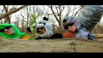 San Diego Zoo Global Wildlife Conservancy TV Spot, 'Animal Costumes' - Thumbnail 5
