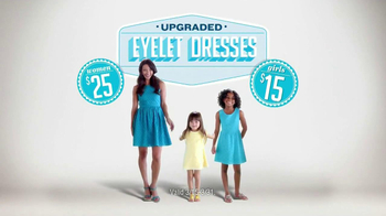 Old Navy Eyelet Dresses TV Spot, 'Airplane' Featuring Rachael Leigh Cook - Thumbnail 8