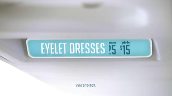 Old Navy Eyelet Dresses TV Spot, 'Airplane' Featuring Rachael Leigh Cook - Thumbnail 3