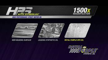 Royal Purple HPS 5W-30 TV Spot, 'Ordinary Synthetics Aren't Enough' - Thumbnail 5