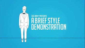 Old Navy Tee Hoodies TV Spot, 'Brief Style Demonstration' Ft. Brad Goreski - Thumbnail 1