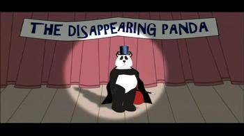 San Diego Zoo TV Spot 'Disappearing Panda' - Thumbnail 1