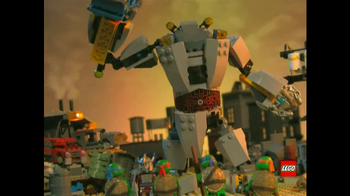 LEGO Teenage Mutant Ninja Turtles TV Spot, 'Battle'