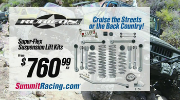 Summit Racing Equipment TV Spot, 'Off-Road Ready: Rubicon'