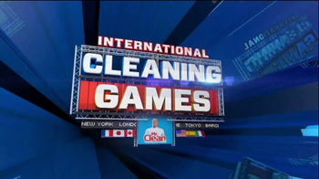 Mr. Clean Magic Eraser Extra Power TV Spot 'International Cleaning Games' - Thumbnail 1