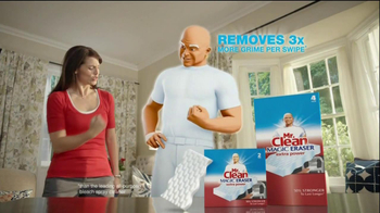 Mr. Clean Magic Eraser Extra Power TV Spot 'International Cleaning Games' - Thumbnail 9