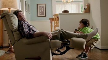 Odor-Eaters Foot & Sneaker TV Spot, 'Asleep in the Recliner' - 9222 commercial airings