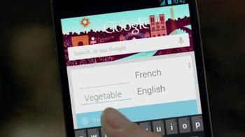 Google Nexus 4 TV Spot, 'Paris, New York' - Thumbnail 3