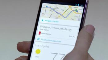 Google Nexus 4 TV Spot, 'Paris, New York' - Thumbnail 8