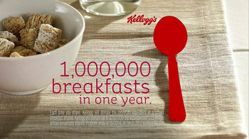 Kellogg's Share Breakfast TV Spot, 'Childhood Hunger' Featuring Taye Diggs - Thumbnail 10