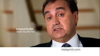 Vistaprint TV Spot, 'Small-Business Owners' - Thumbnail 3