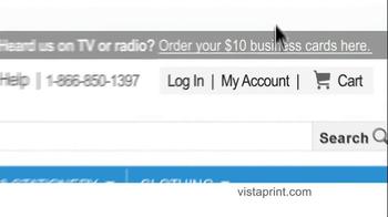 Vistaprint TV Spot, 'Small-Business Owners' - Thumbnail 5