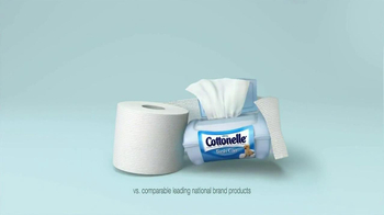 Cottonelle Clean Care TV Spot, 'Clean Without Water' - Thumbnail 10