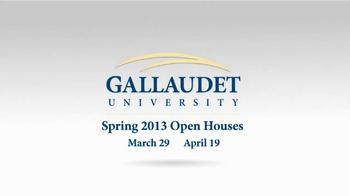Gallaudet University TV Spot, 'First Deaf President' - Thumbnail 10