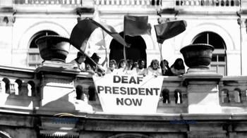 Gallaudet University TV Spot, 'First Deaf President' - Thumbnail 6