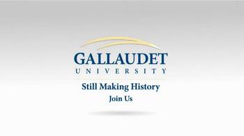 Gallaudet University TV Spot, 'First Deaf President' - Thumbnail 8