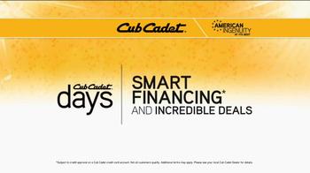 Cub Cadet RZT S TV Spot, 'Smartest Choice' - Thumbnail 8