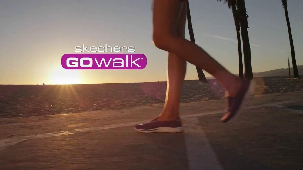 Skechers Go Walk TV Commercial, 'From Sun Up to Sun Down' Song by Rizzle Kicks