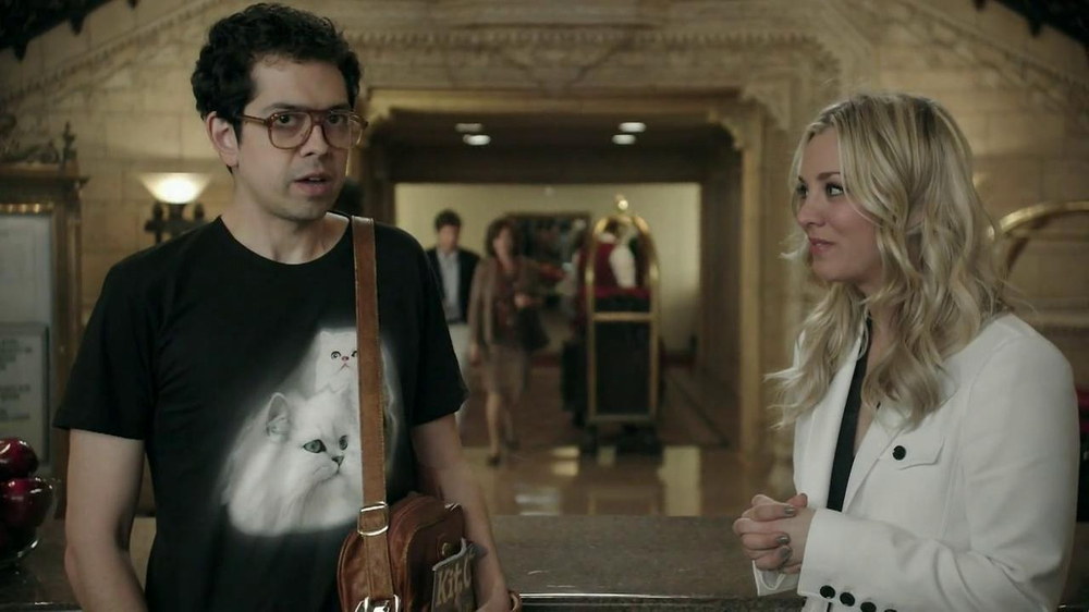 Priceline.com TV Commercial, 'Cat Guy' Featuring Kaley Cuoco