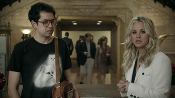 Priceline.com TV Spot, 'Cat Guy' Featuring Kaley Cuoco - Thumbnail 10