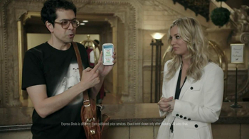 Priceline.com TV Spot, 'Cat Guy' Featuring Kaley Cuoco - Thumbnail 5