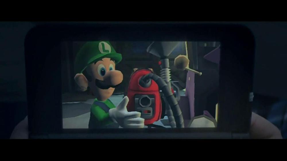 Luigi S Mansion Dark Moon Tv Commercial Ghosts Video