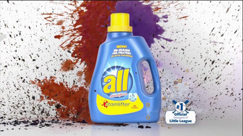 All Laundry Detergent Stainlifter In-Wash Pre-Treaters TV Spot, 'Wall' - Thumbnail 4