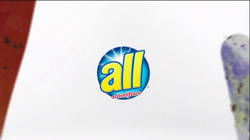 All Laundry Detergent Stainlifter In-Wash Pre-Treaters TV Spot, 'Wall' - Thumbnail 5
