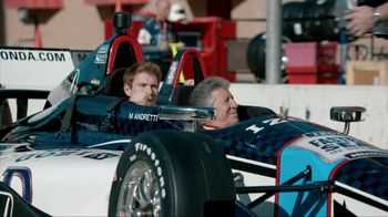 Honda Fastest Seat in Sports TV Spot, 'Two Seats' Featuring Mario Andretti