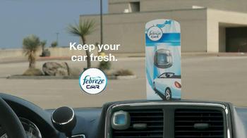 Febreze Car Vent Clip TV Spot, 'Experiment: Man Fresh Out of the Shower' - Thumbnail 9
