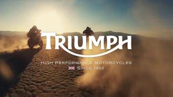 Triumph Motorcycles TV Spot, 'Dunes' - Thumbnail 8