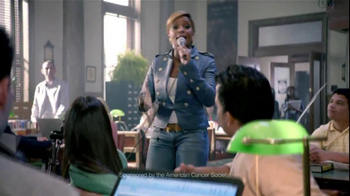 American Cancer Society TV Spot, 'Fight' Featuring Mary J. Blige - Thumbnail 6