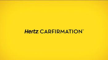 Hertz TV Spot, 'Carfirmation' Featuring Owen Wilson - Thumbnail 9