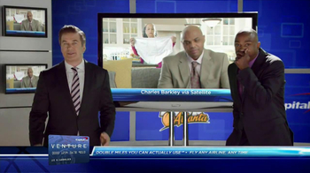 Capital One Venture TV Spot Featuring Alec Baldwin and Charles Barkley