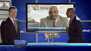Capital One Venture TV Spot Featuring Alec Baldwin and Charles Barkley - Thumbnail 8