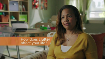 Neat Desk and Receipts TV Spot, 'Clutter'