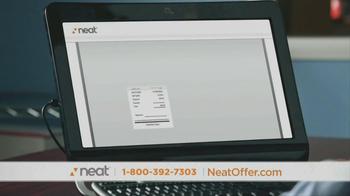 Neat Desk and Receipts TV Spot, 'Clutter' - Thumbnail 4