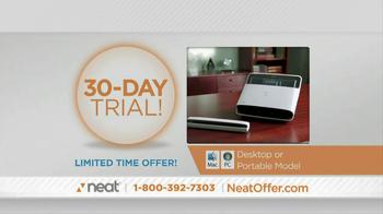 Neat Desk and Receipts TV Spot, 'Clutter' - Thumbnail 7