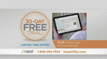 Neat Desk and Receipts TV Spot, 'Clutter' - Thumbnail 8