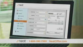 Neat Desk and Receipts TV Spot, 'Clutter' - Thumbnail 9