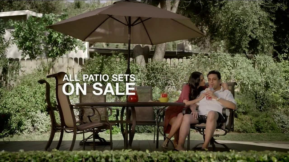 Kmart Layaway TV Commercial, 'Patio Set'