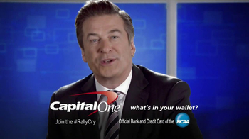 Capital One TV Spot, 'Fourth-Graders' Feat. Alec Baldwin, Charles Barkley - Thumbnail 10