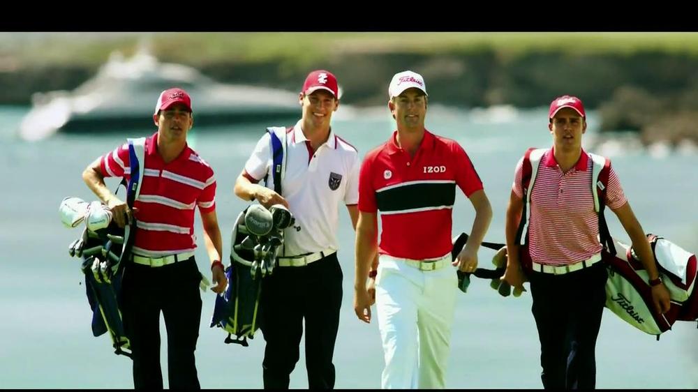 Izod TV Commercial , 'Golfing' Featuring Webb Simpson