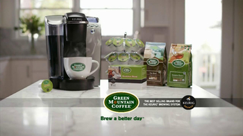 Green Mountain Coffee TV Spot  - Thumbnail 8