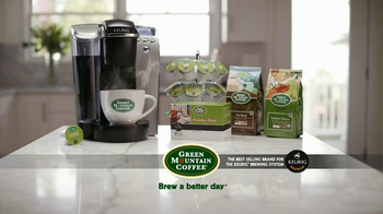 Green Mountain Coffee TV Spot  - Thumbnail 7