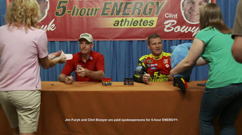 5 Hour Energy TV Spot, 'Autographs' Featuring Jim Furyk and Clint Bowyer - Thumbnail 2
