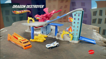 Hot Wheels Dragon Destroyer Racetrack TV Spot  - Thumbnail 10