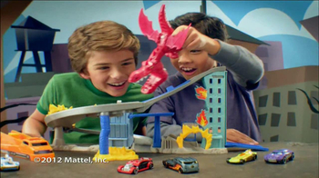 Hot Wheels Dragon Destroyer Racetrack TV Spot